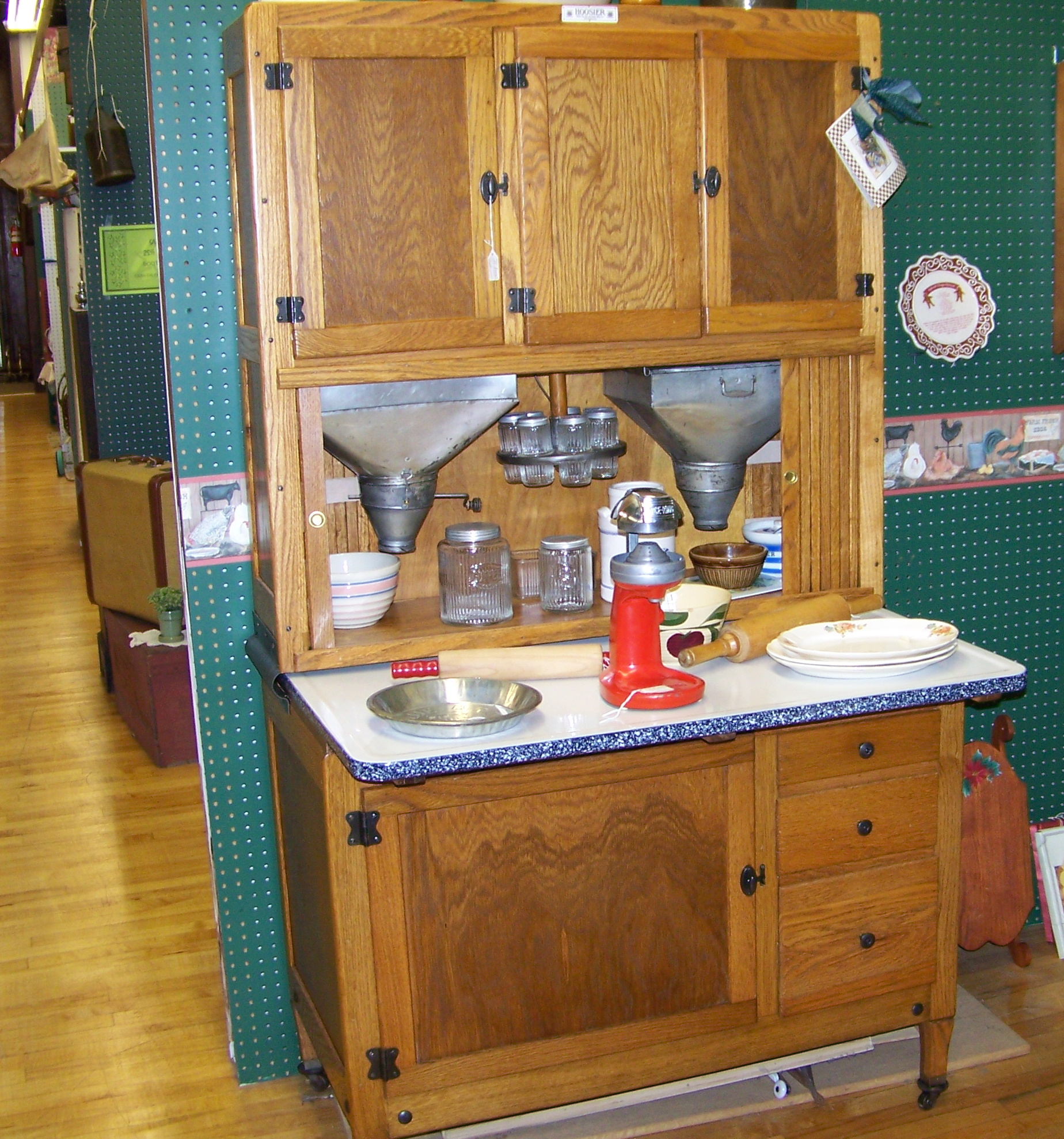 Hoosier Cabinet Parts, Hoosier Style Accessories Hoosier