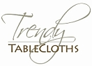 trendy tablecloths